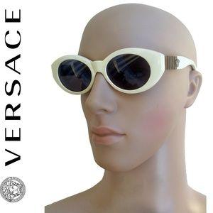 VTG Gianni Versace Sunglasses MOD 480/B Rare White